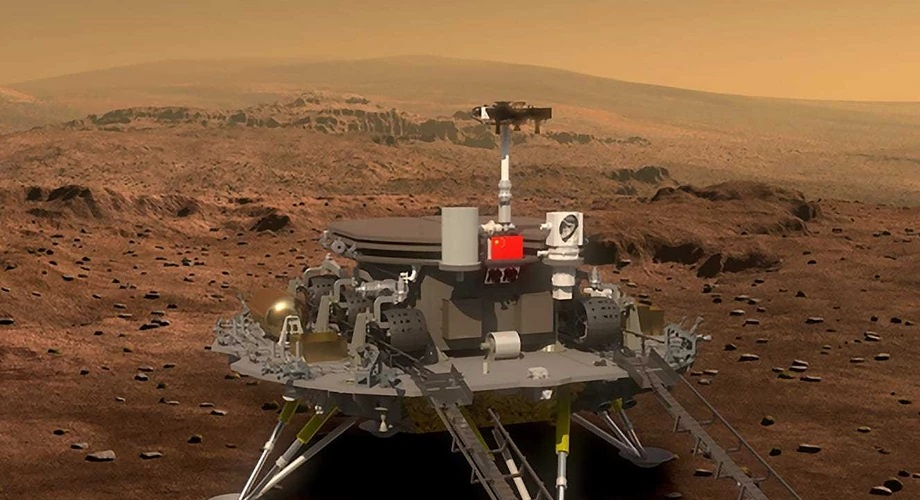 Global Tech Roundup: China Lands on Mars, $1 Billion Crypto Philanthropy & Others
