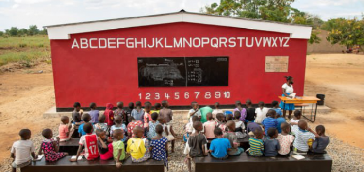 First-ever 3D-printed school building in the world unveiled in Malawi
