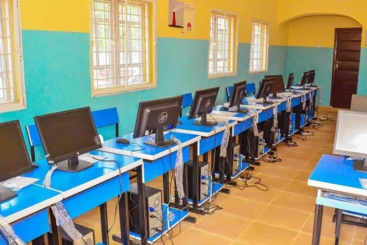 Danbatta seeks stakeholders' support for ubiquitous ICT adoption as Huawei donates lab to his alma mater