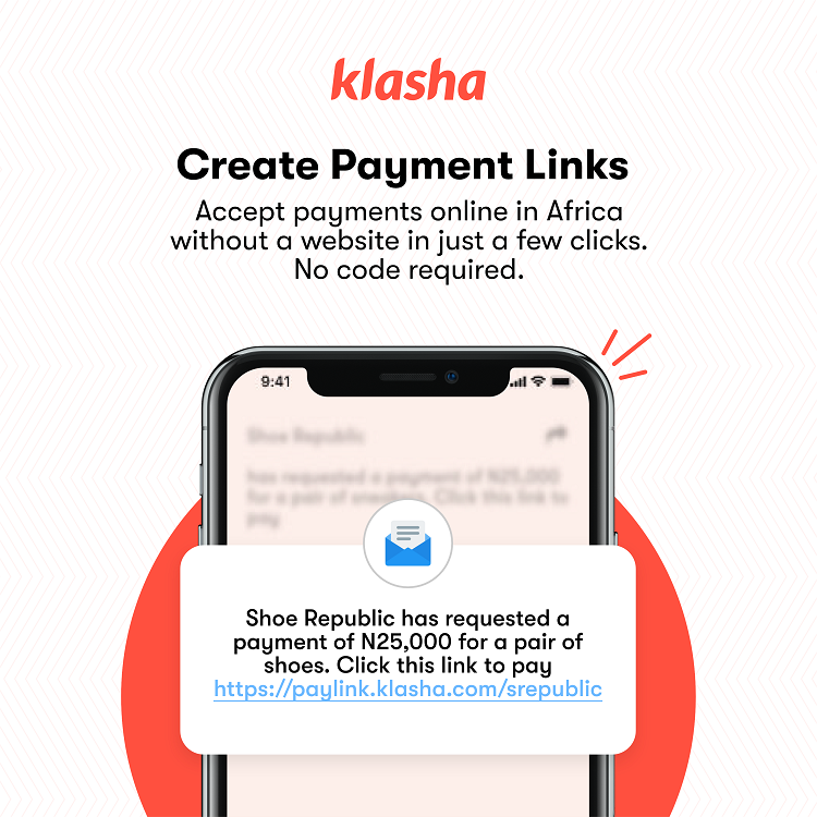 Klasha launches 'Payment Links'- a no-code option to accept payments from Africa