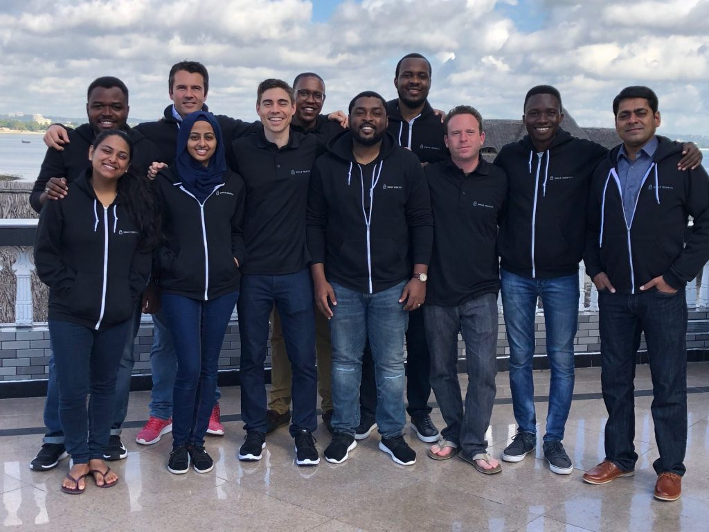 A picture of the Smile Identity team in 2019