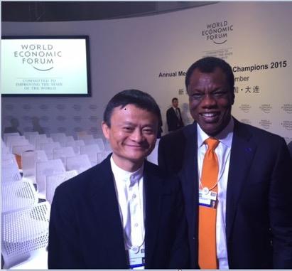 Jack Ma, Founder, Alibaba and Austin Okere, Founder CWG & Ausso Leadership Academy