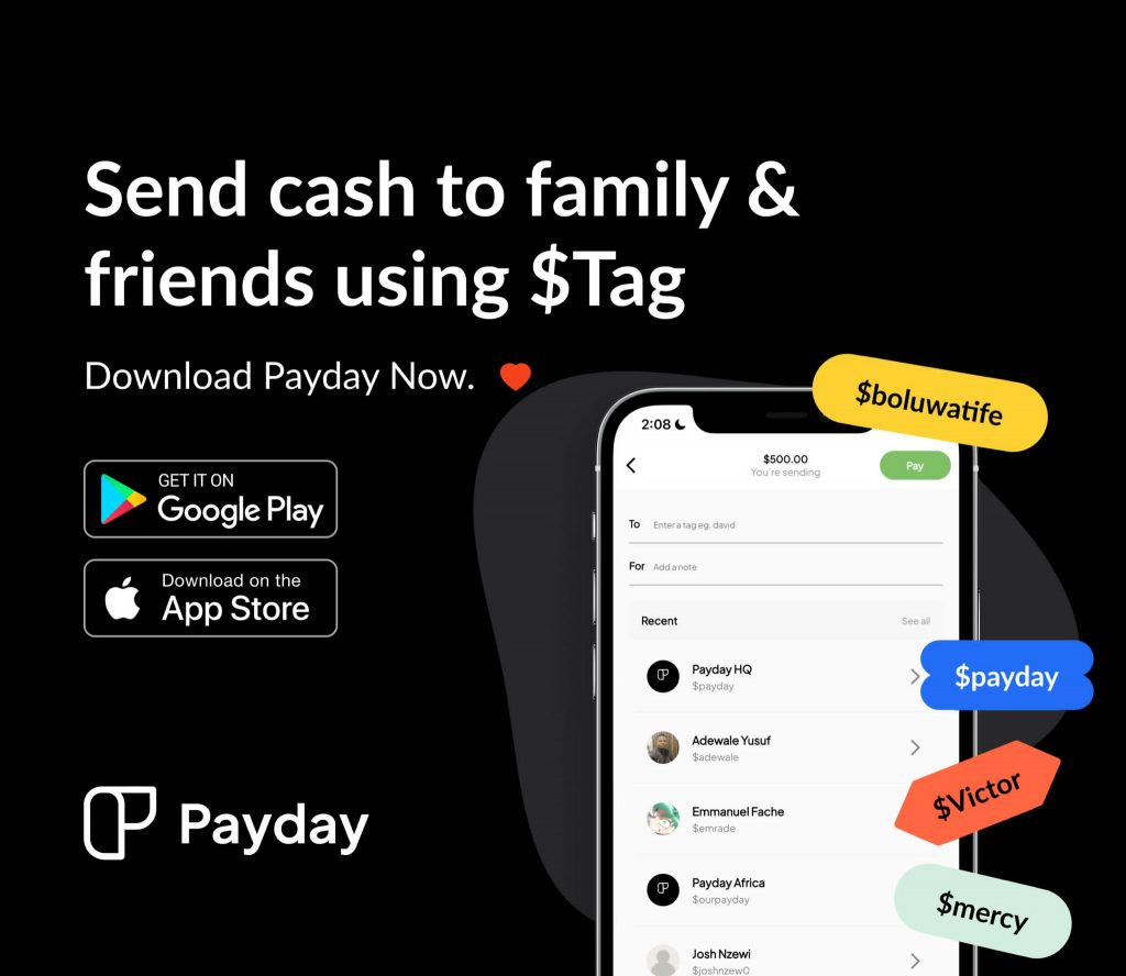 Favour Ori's new startup, Payday raises $1m pre-seed fund