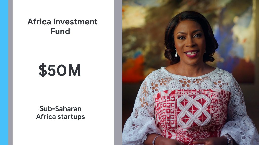 The investment will focus on enabling fast, affordable internet access for more Africans; building helpful products; supporting entrepreneurship and small business; and helping nonprofits to improve lives across Africa